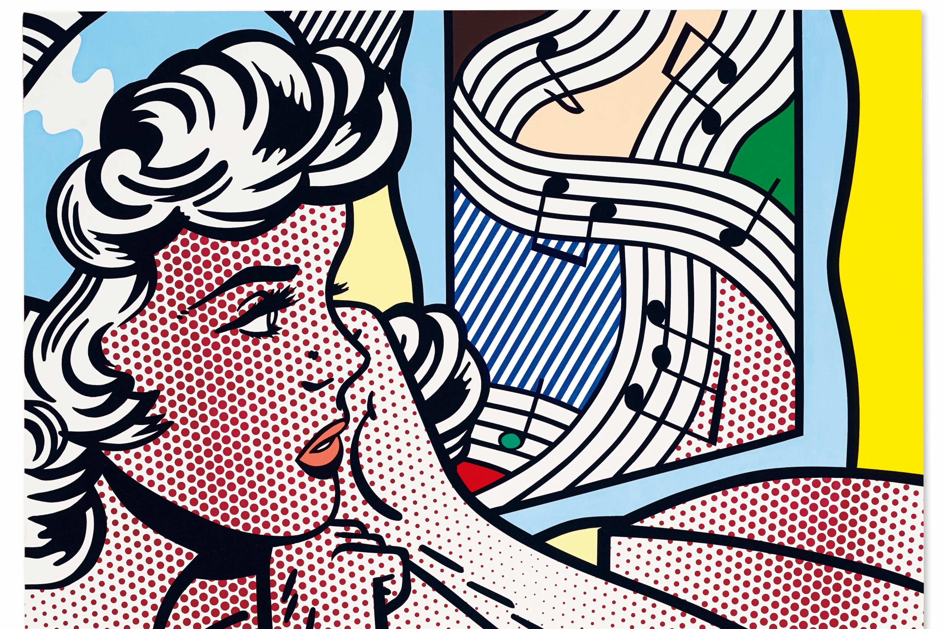 $46.2-Million Lichtenstein Nude Drives Christie's Global Relay Auction