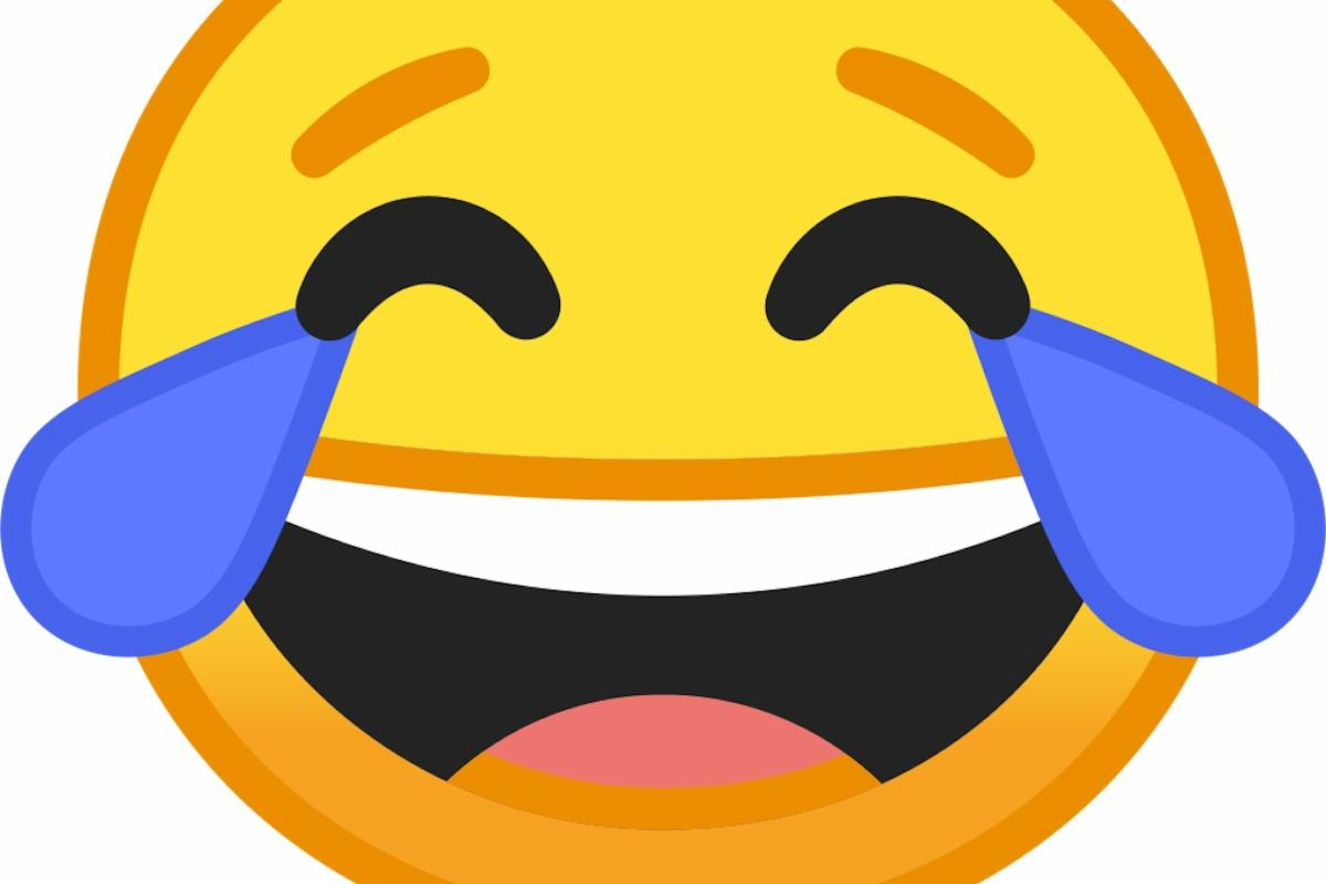 "Face with tears of joy"" is the most popular emoji in the U S"
