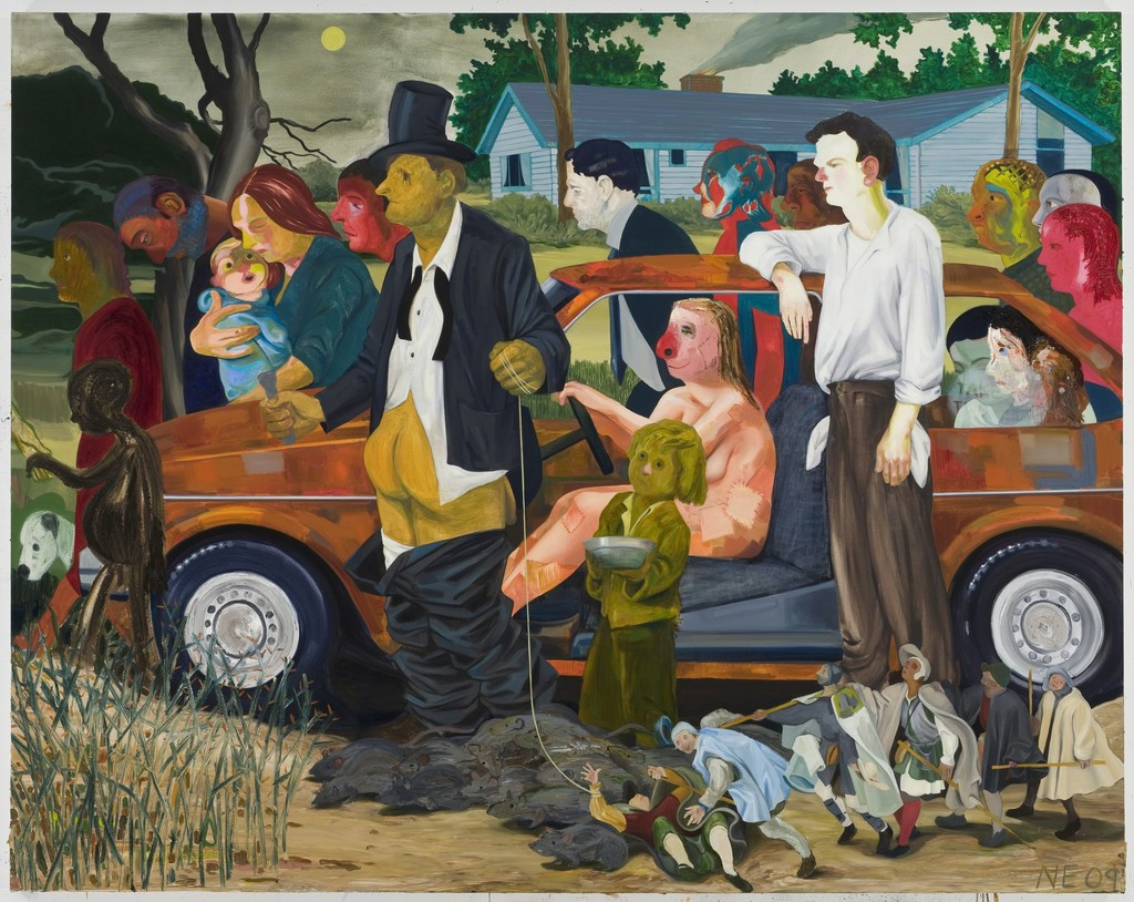 nicole eisenman s paintings will make you laugh even when it hurts