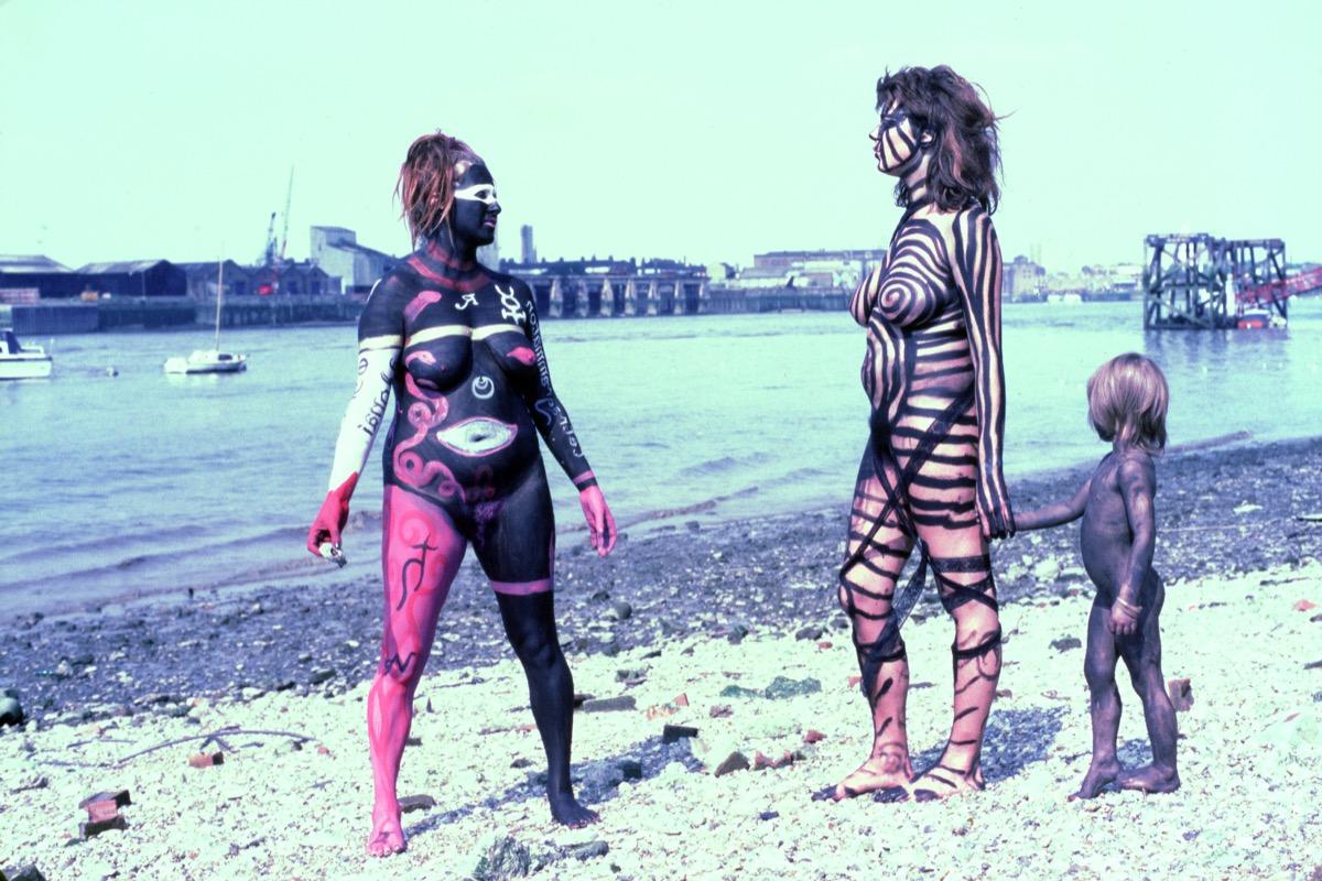 Senior nudists