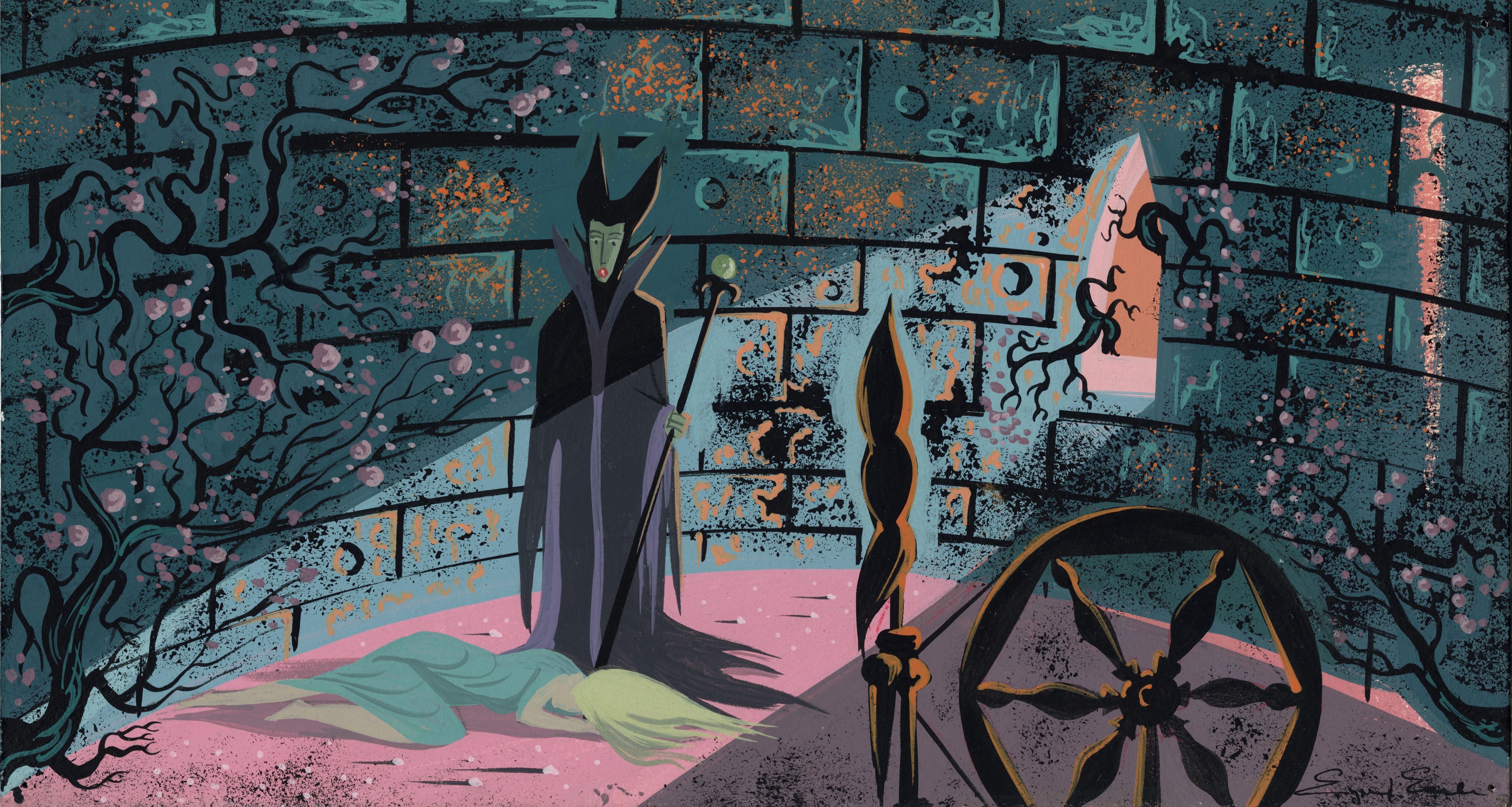 Artist Eyvind Earle Made Disney S Sleeping Beauty