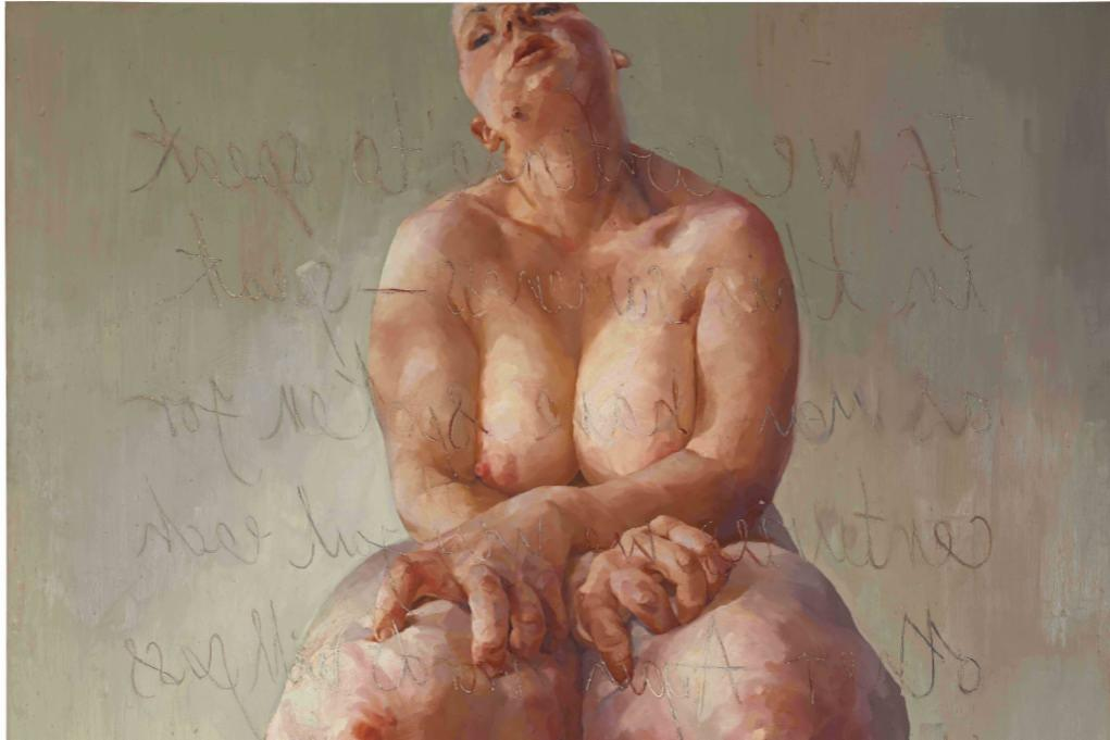 how jenny saville changed the way we view the female form in painting