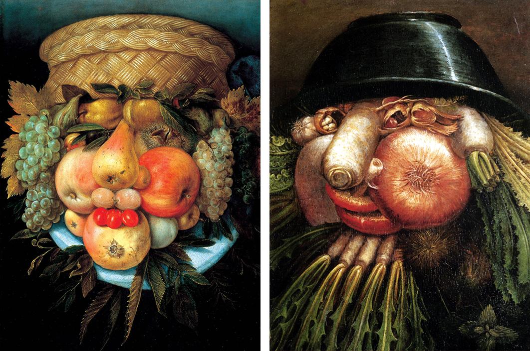 Arcimboldo Visual Jokes Natural History and Still-Life Painting