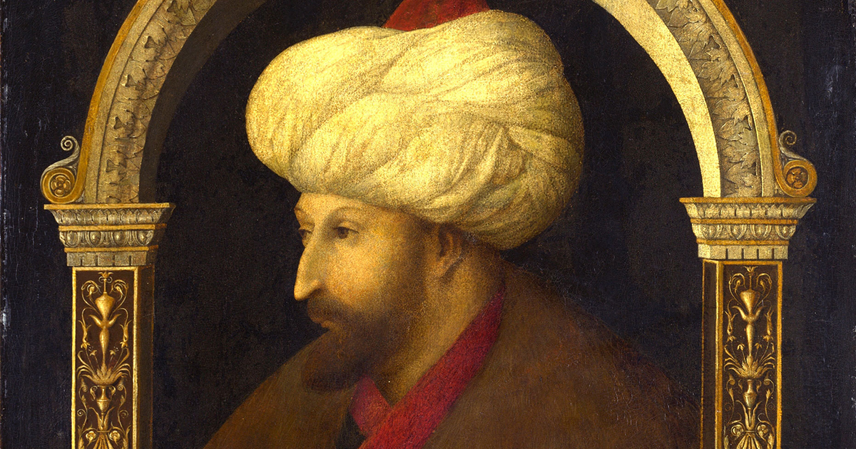How Gentile Bellini's Portrait of a Sultan Helped End a War