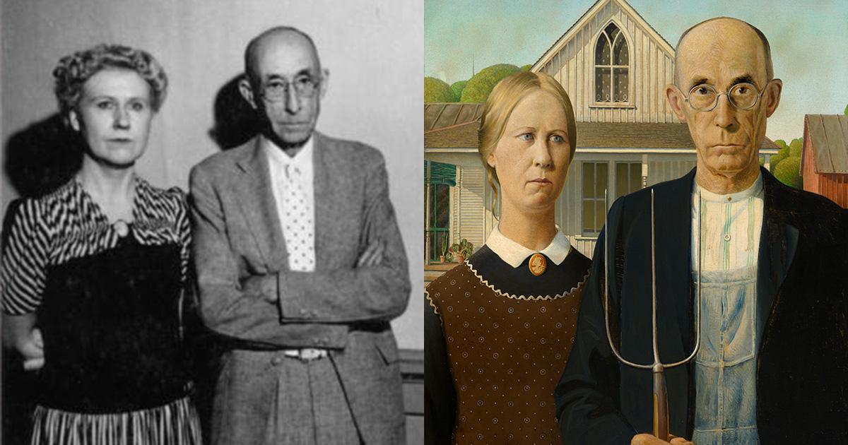 Grant Wood S Menacing Mesmerizing Portrait Of Rural America Artsy