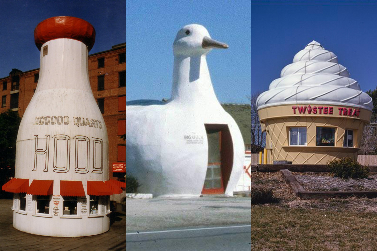 "The Quirky, Endearing Tradition of ""Duck"" Architecture"