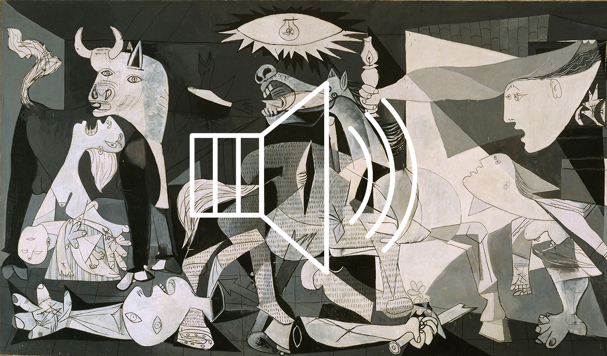 Original guernica painting images for Mural guernica