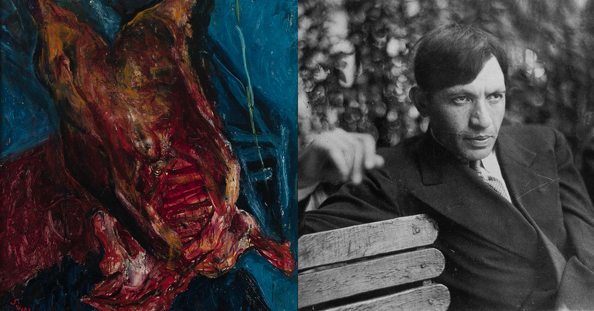 Why an Impoverished Chaim Soutine Filled His Studio with Rotting Meat
