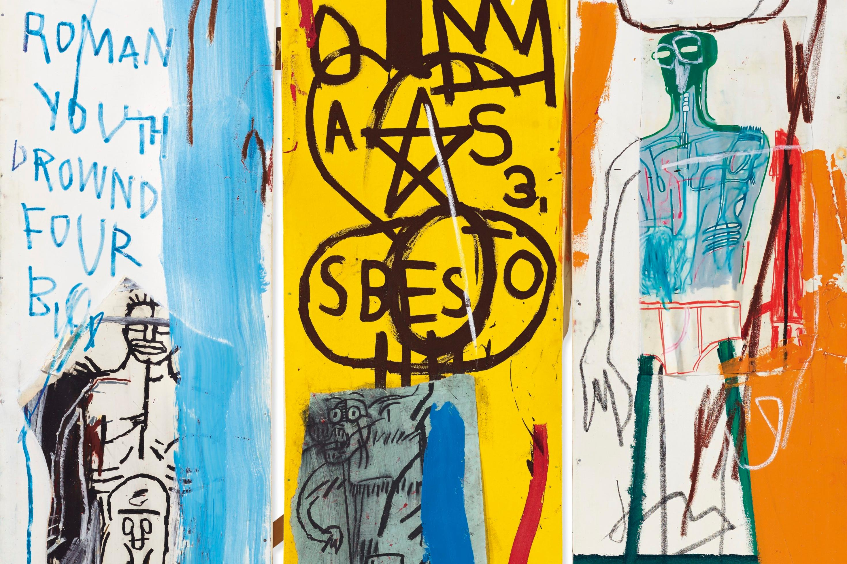 $9.1-Million Basquiat Leads Subdued Sale at Christie's in London