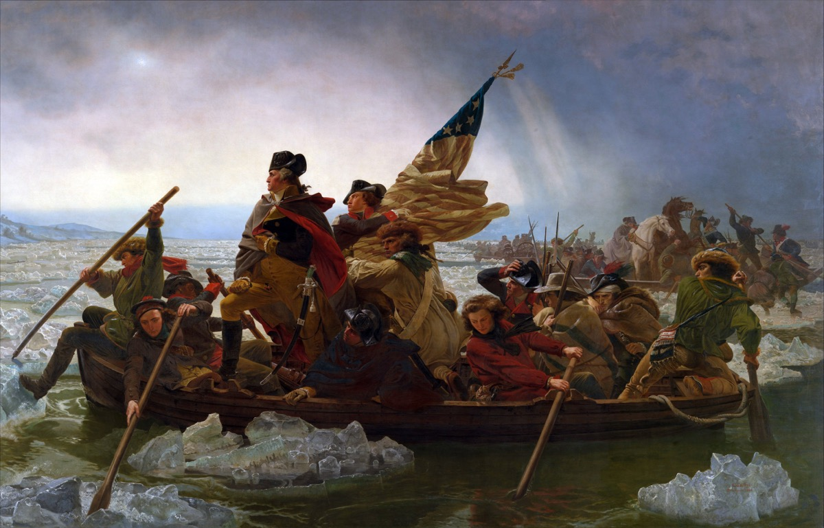 This Iconic American History Painting Gets The Facts Wrong Artsy Wiring Money Pnc