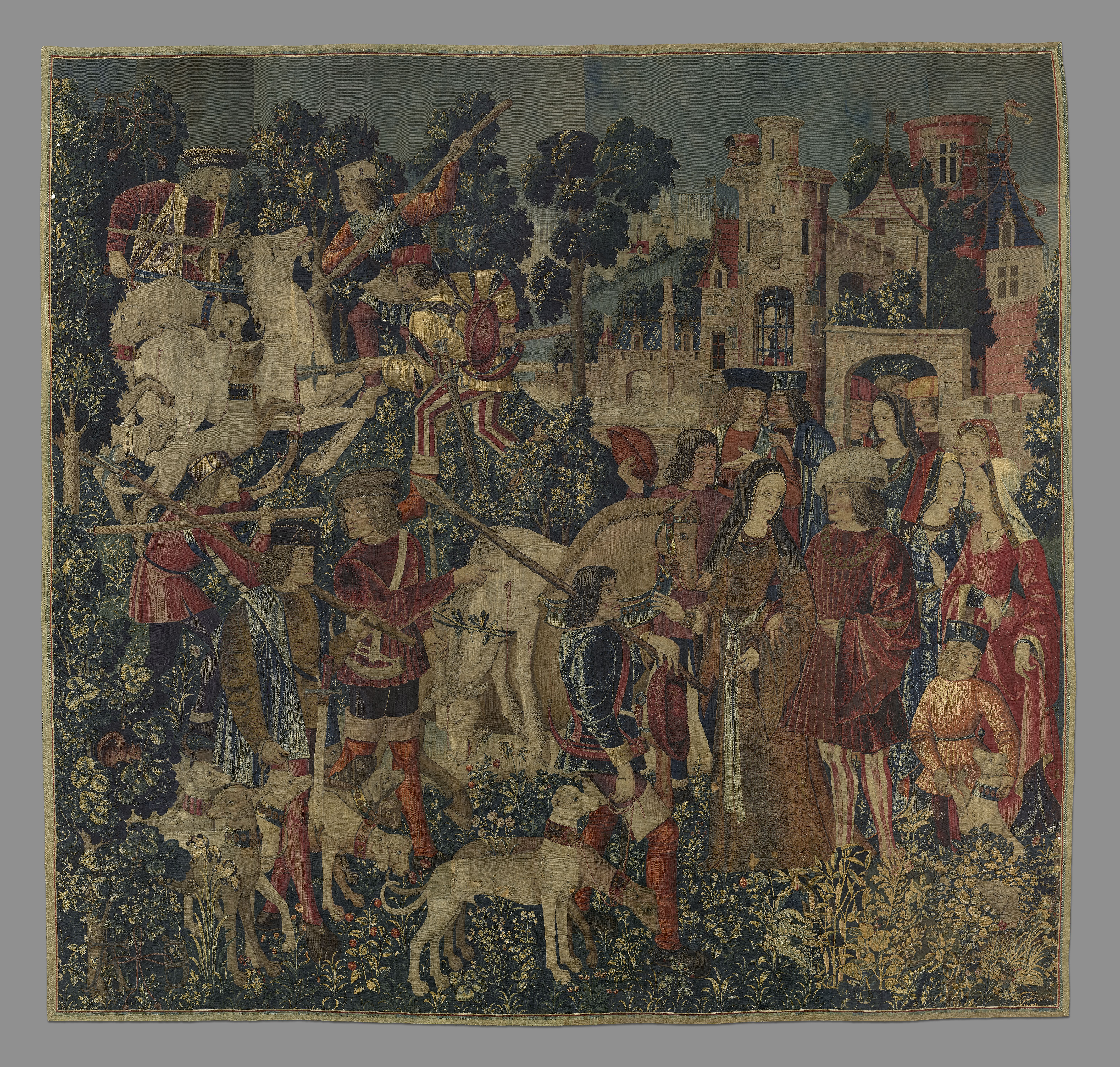 Why The Mystery Of The Mets Unicorn Tapestries Remains Unsolved Artsy