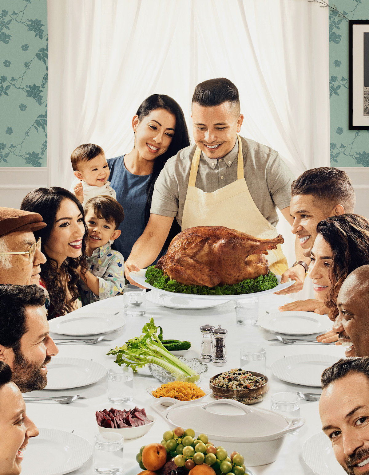 Norman Rockwell Family Meal | www.topsimages.com