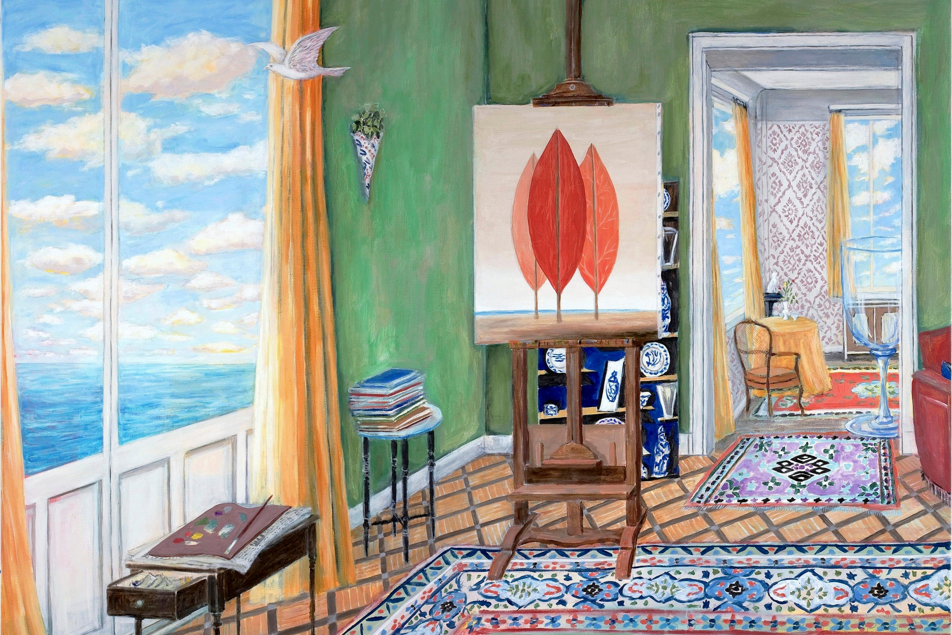 How To Set Up A Painting Studio At Home Artsy
