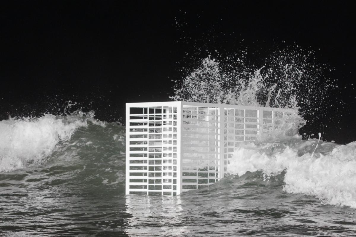 "6108d4178f695e Lars Jan s ""Slow-Moving Luminaries"" Presents a Vision of Miami under Water  - Artsy"