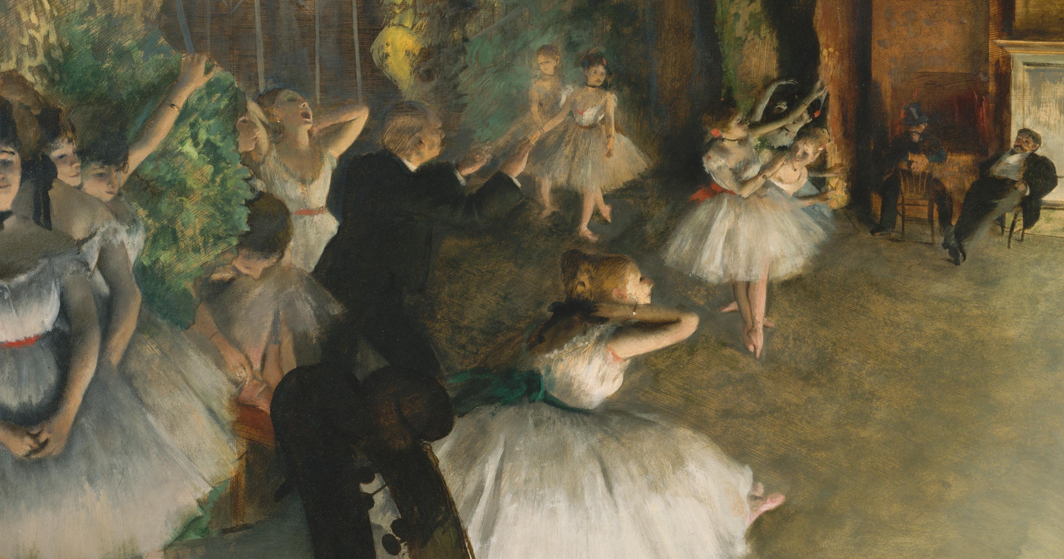 2d5b57da2864 Edgar Degas s Ballet Dancers Hide a Sordid Backstage Reality - Artsy