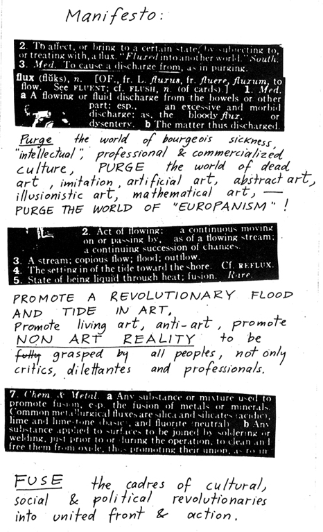 What Is Fluxus?