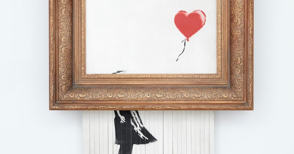 Banksy Claims Partially Shredded Canvas as a New Work