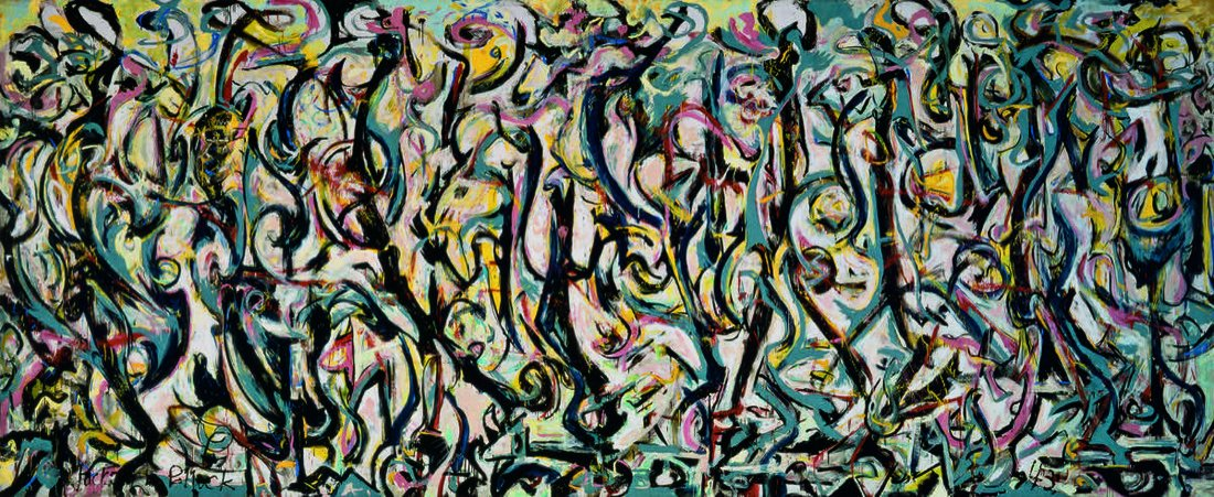 The Story of Pollock's $140 Million Masterpiece, Created in One Night