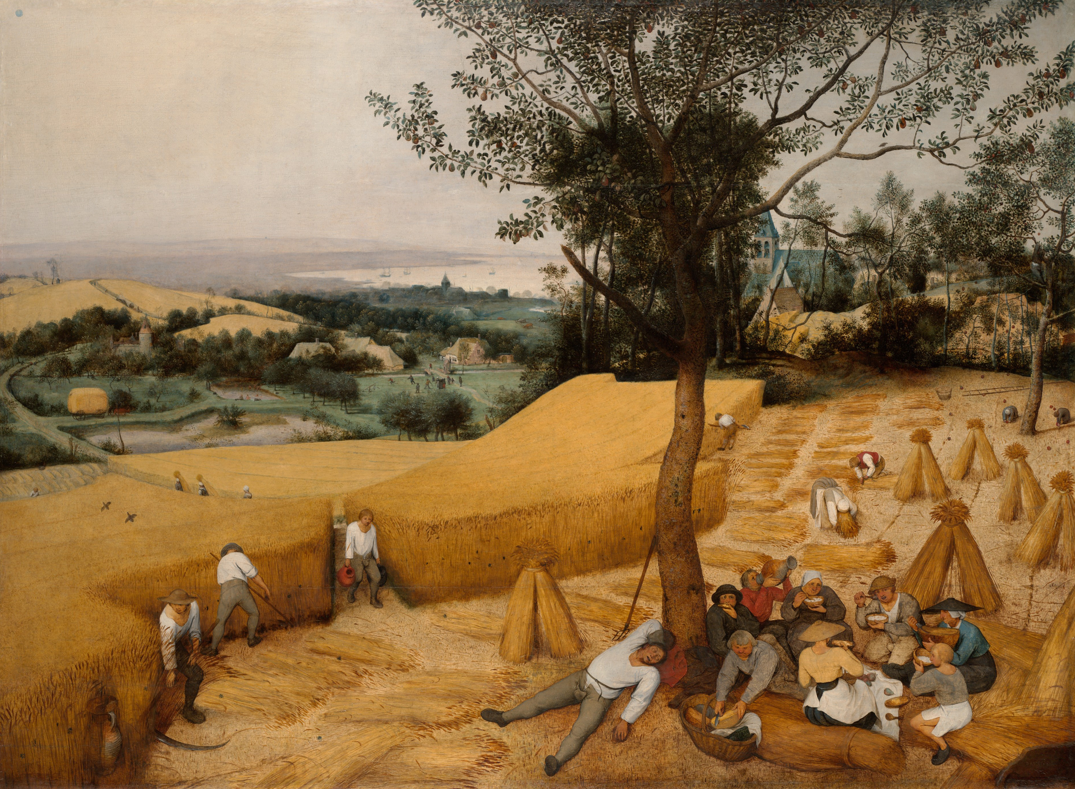 "This Artwork Changed My Life: Pieter Bruegel the Elder's ""The Harvesters"""