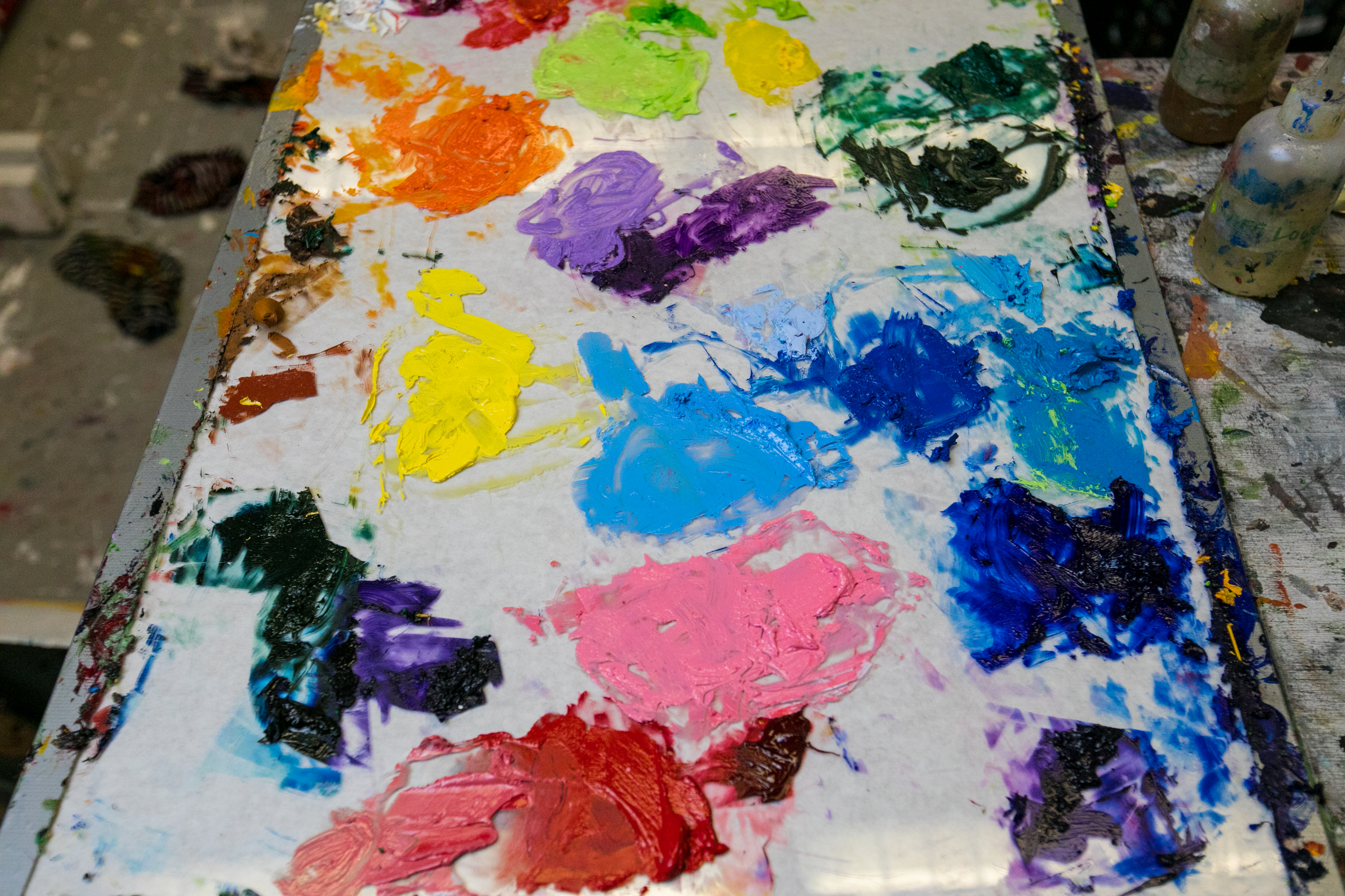 How To Make A Color Wheel And 3 Other Color Theory Exercises For Beginner Painters Artsy