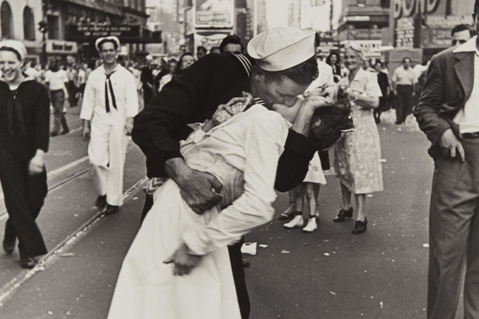 01e61050 The Controversy Surrounding Alfred Eisenstaedt's Iconic Photo of a V-J Day  Kiss