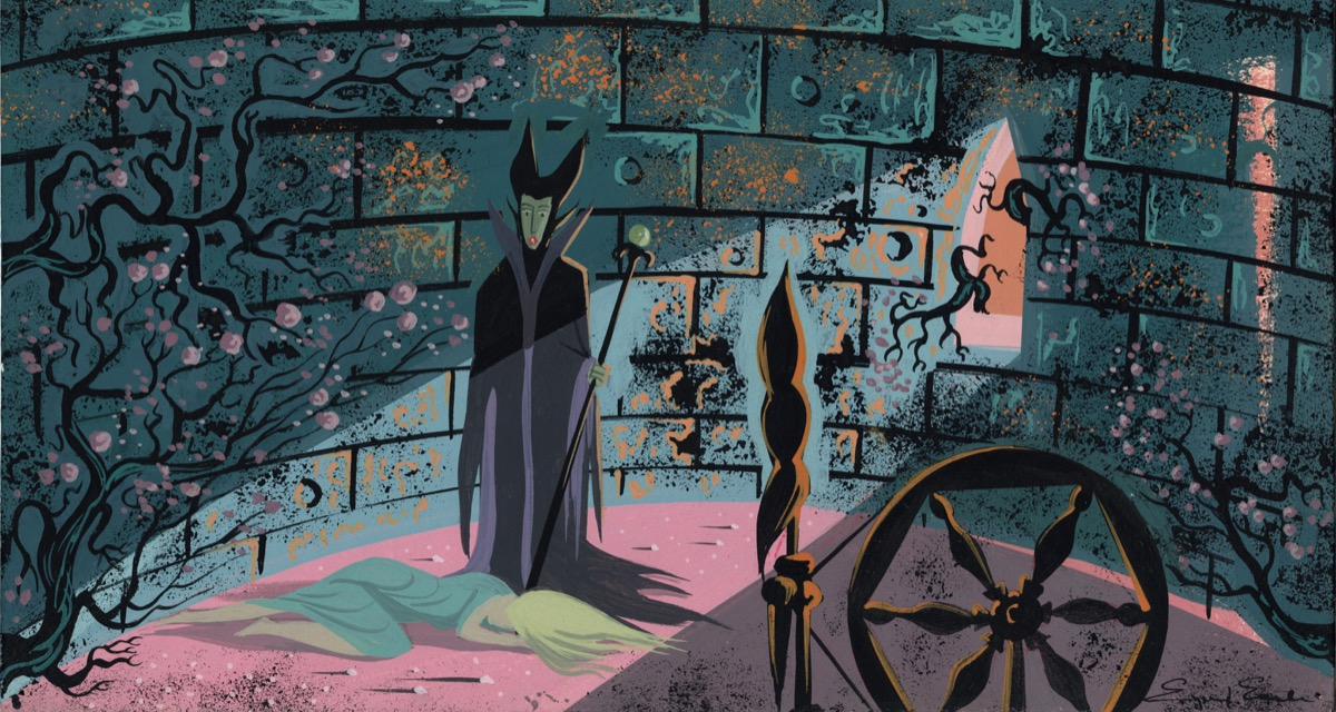Artist Eyvind Earle Made Disneys Sleeping Beauty Enchanting And Nearly Impossible To Animate Artsy