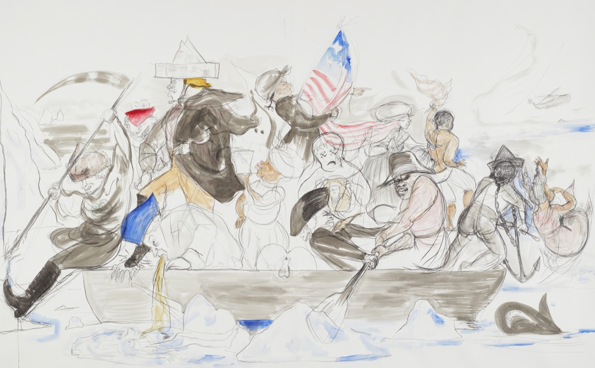 How Contemporary Artists Have Used Washington Crossing The Delaware To Challenge History Artsy