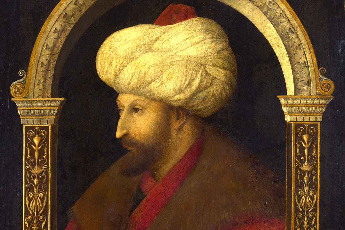 993ce3571f65 How Gentile Bellini s Portrait of a Sultan Helped End a War - Artsy