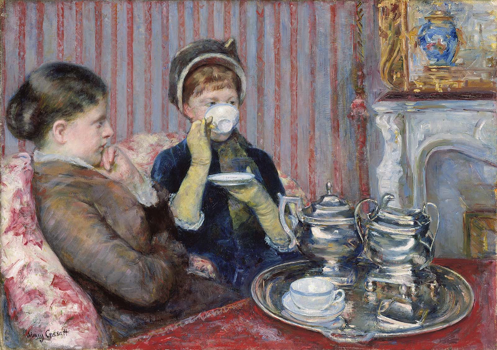 Mary Cassatt Painted Domestic Life In A Way Male Impressionists Couldnt