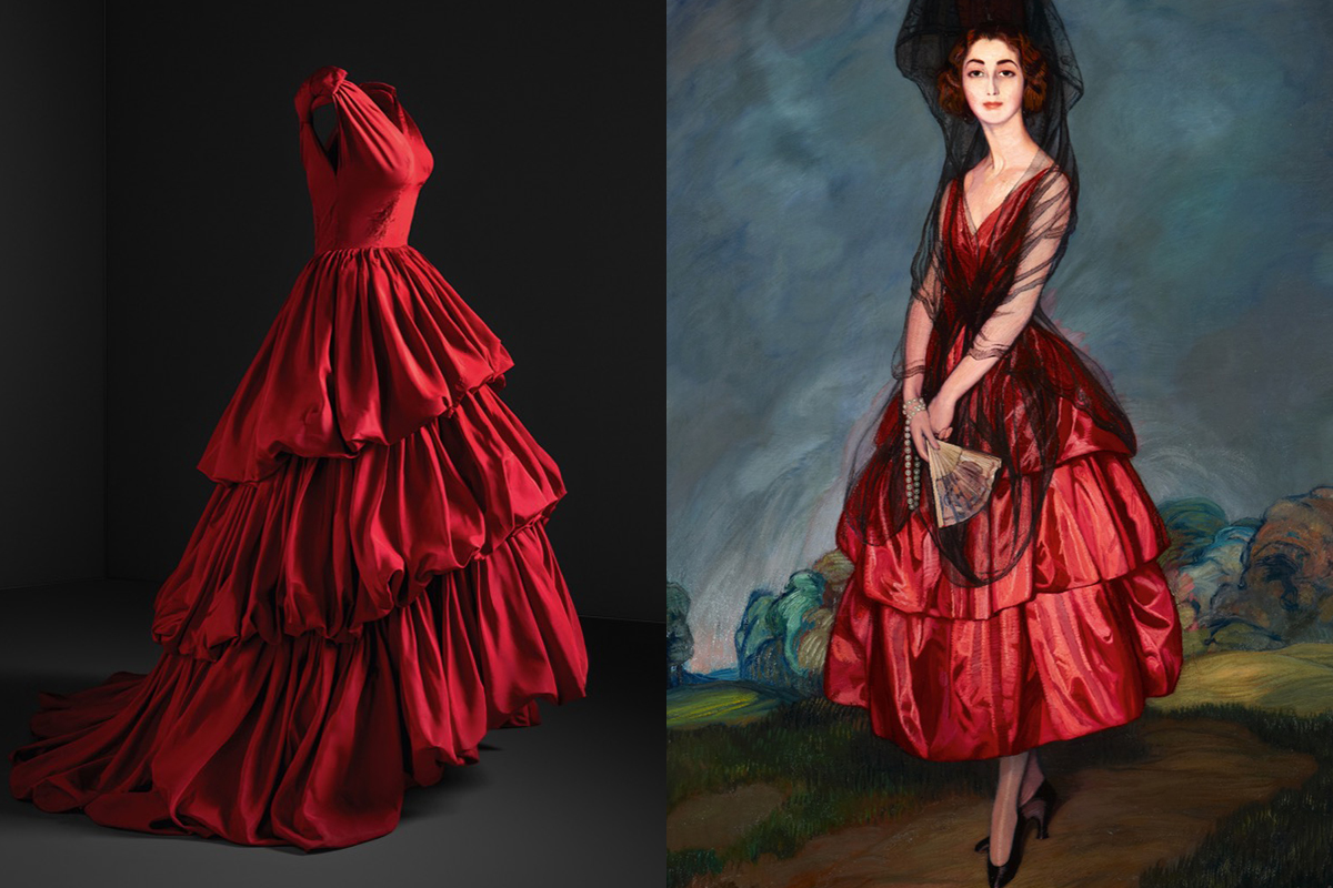 Balenciaga S Fashion Designs Were Inspired By Velazquez And Goya Artsy