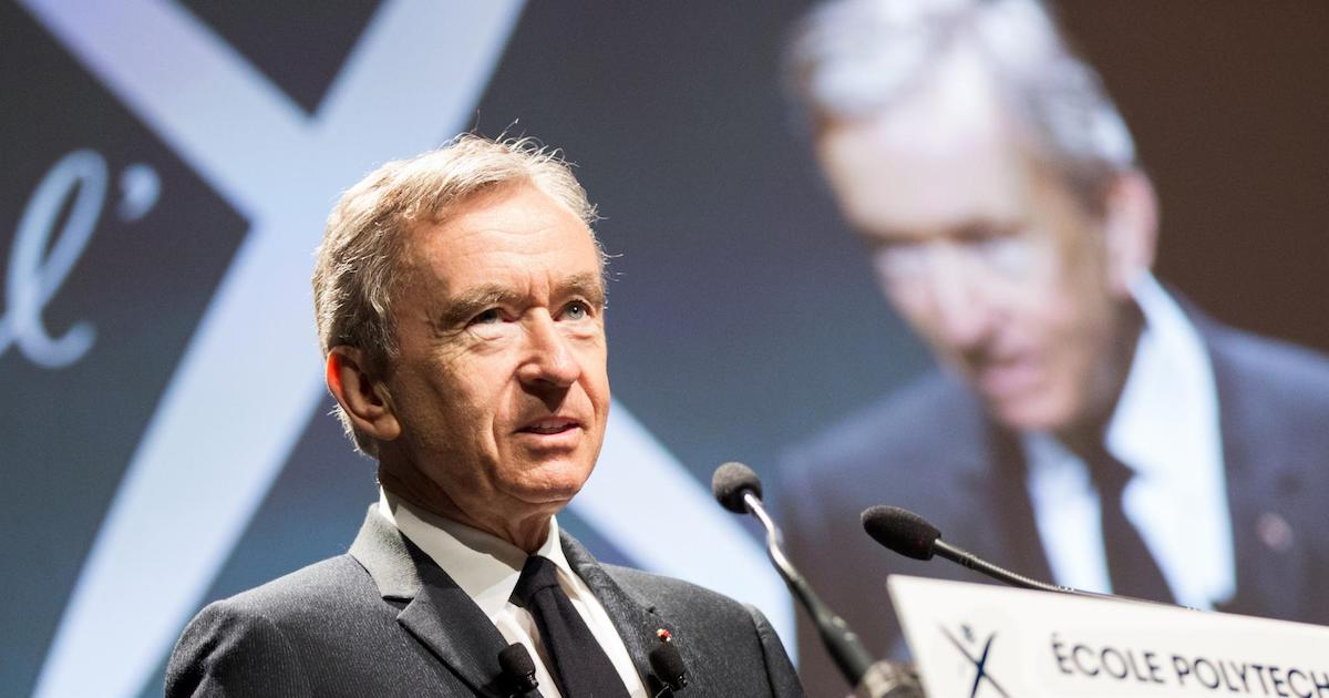 The French mega-collector Bernard Arnault is now the second-richest man in the world.