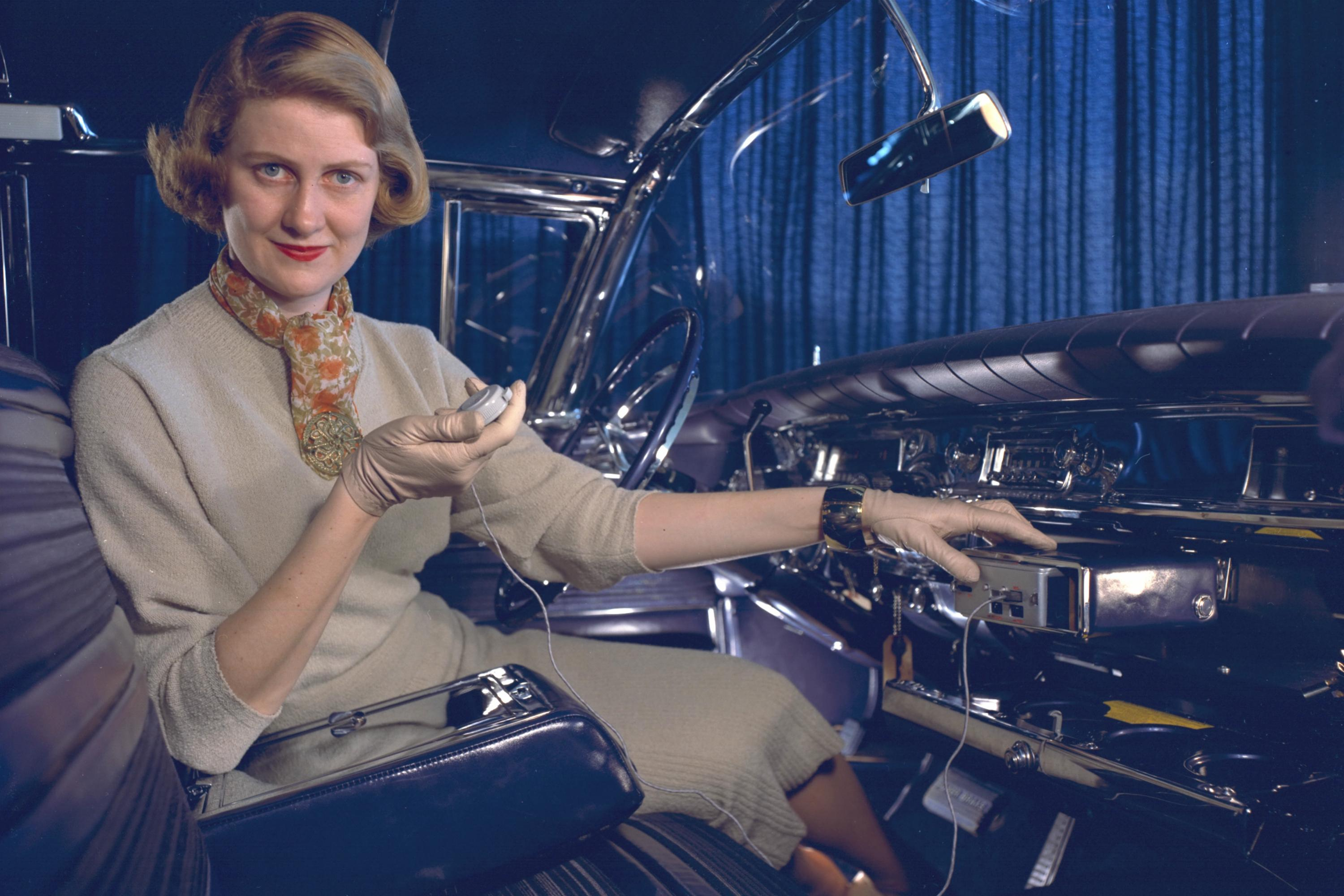 Gm S Damsels Of Design Innovated Car Interiors In The 1950s Artsy