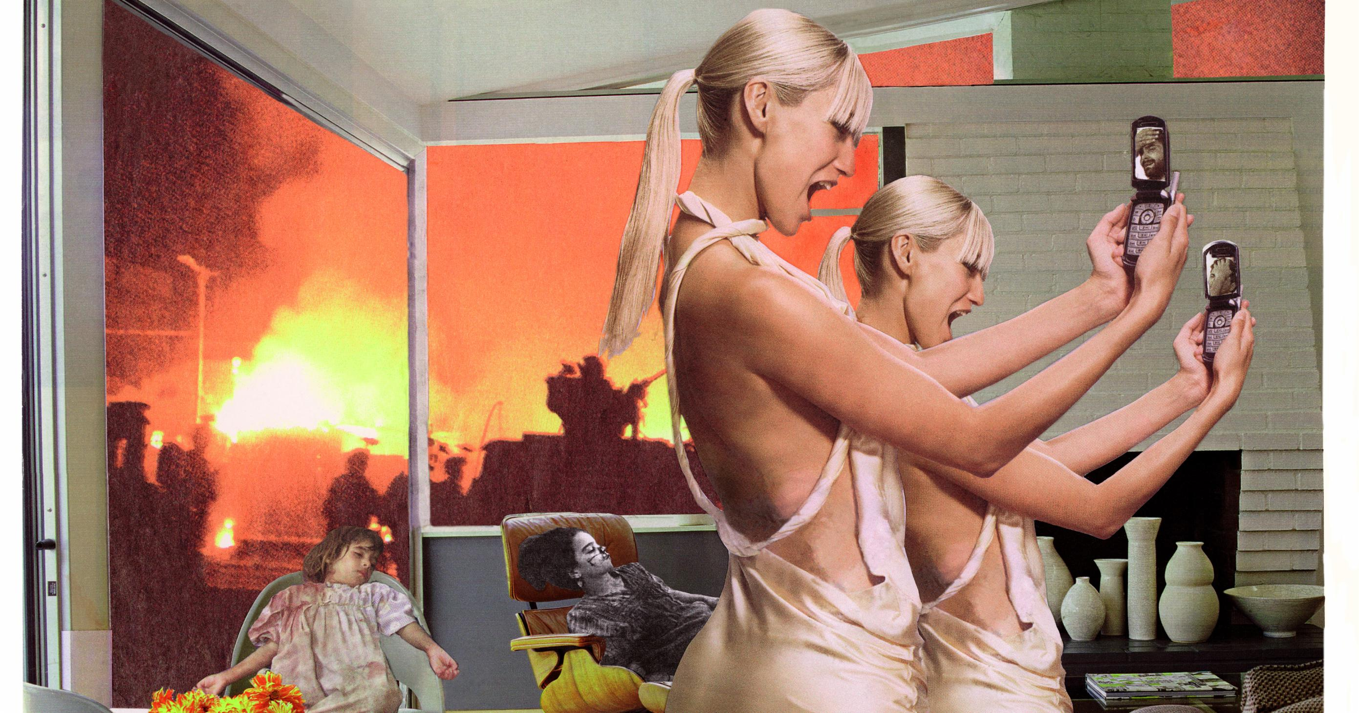 Martha Rosler's Powerful Collages Are a Wake-Up Call to America