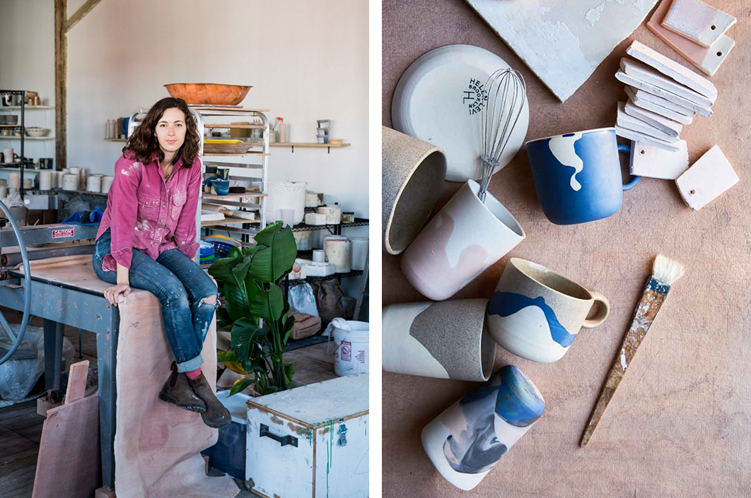 Peachy How Ceramicist Helen Levi Turned Her Passion For Pottery Home Interior And Landscaping Palasignezvosmurscom