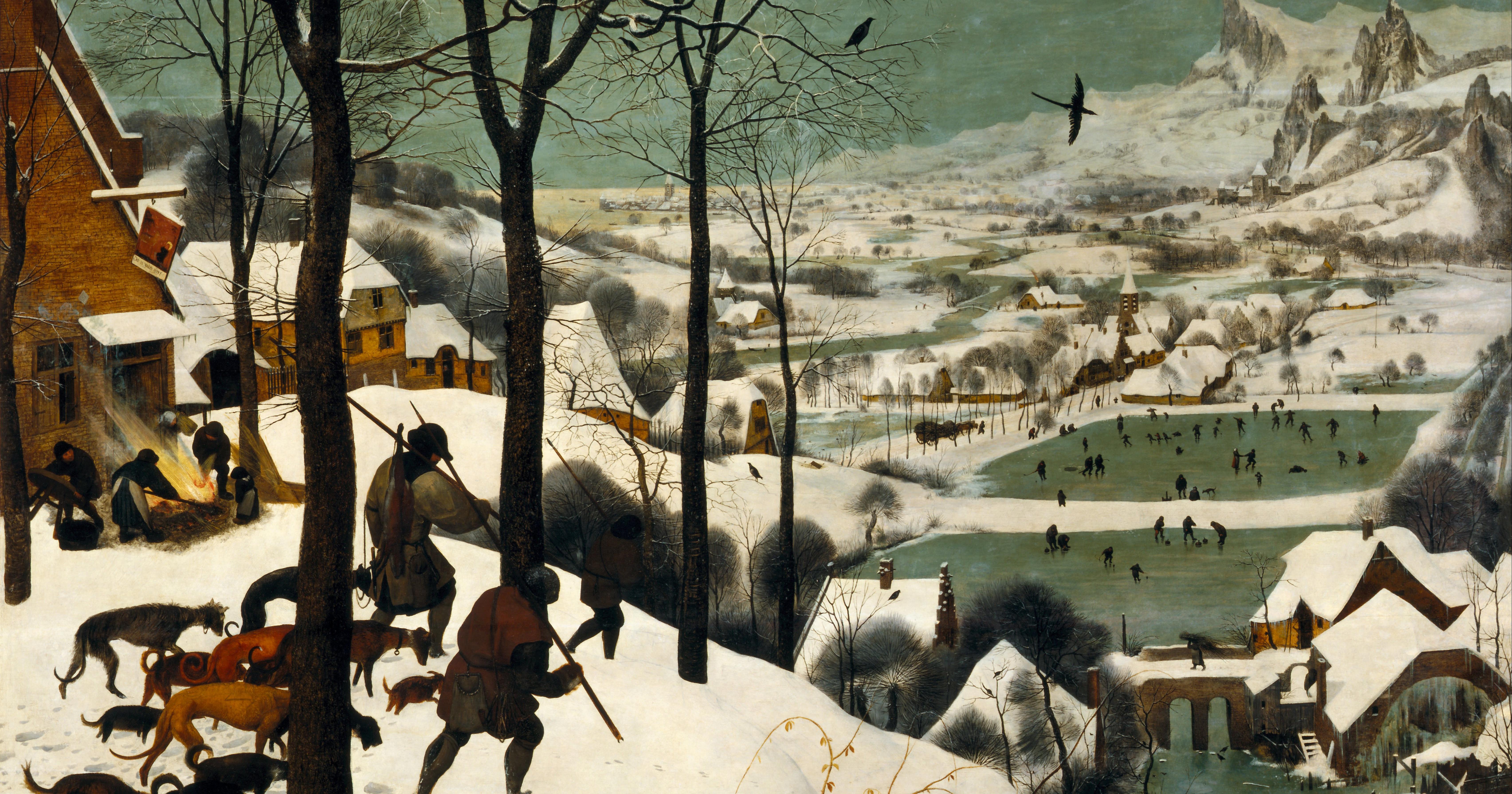 "3568560769e Pieter Bruegel the Elder's ""Hunters in the Snow"" Captures the Perilous  Little Ice Age - Artsy"