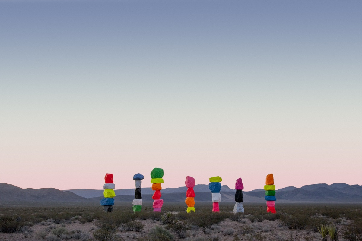 3f8d5df5 Seven Magic Mountains Was Against the Law—So a Museum Passed a New One -  Artsy