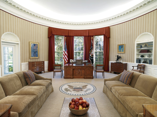 Why Is The Oval Office An Oval?   Artsy