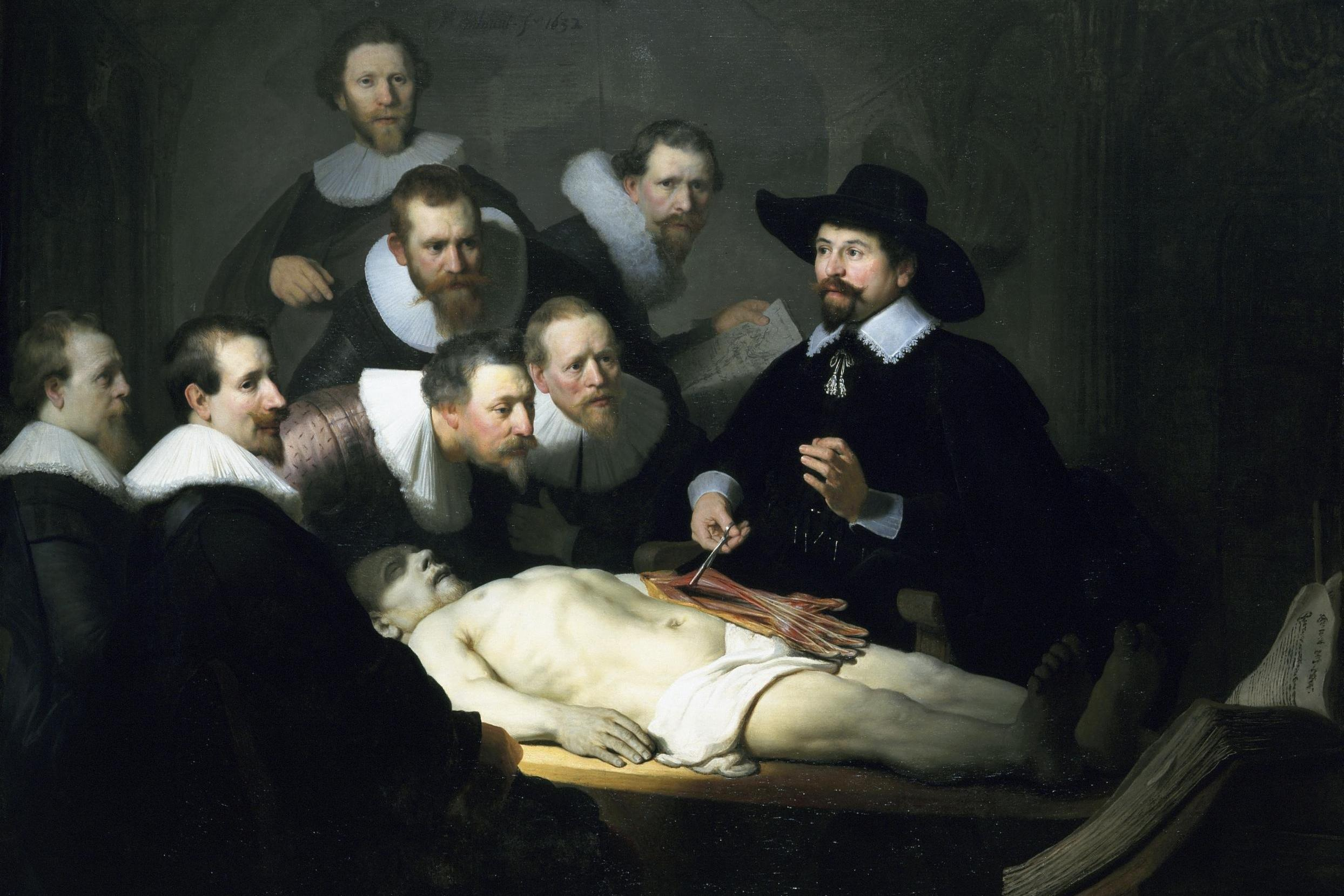 The Renaissance Tradition Of Using Cadavers In Drawing Classes Is