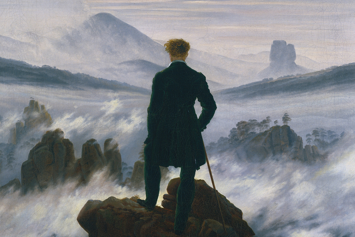 "The Mysteries behind Caspar David Friedrich's ""Wanderer above the Sea of Fog""  - Artsy"