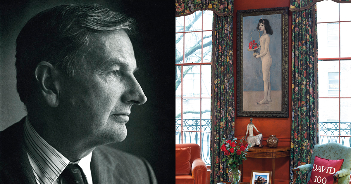 Inside The Mind Of David Rockefeller, Titan Of Art