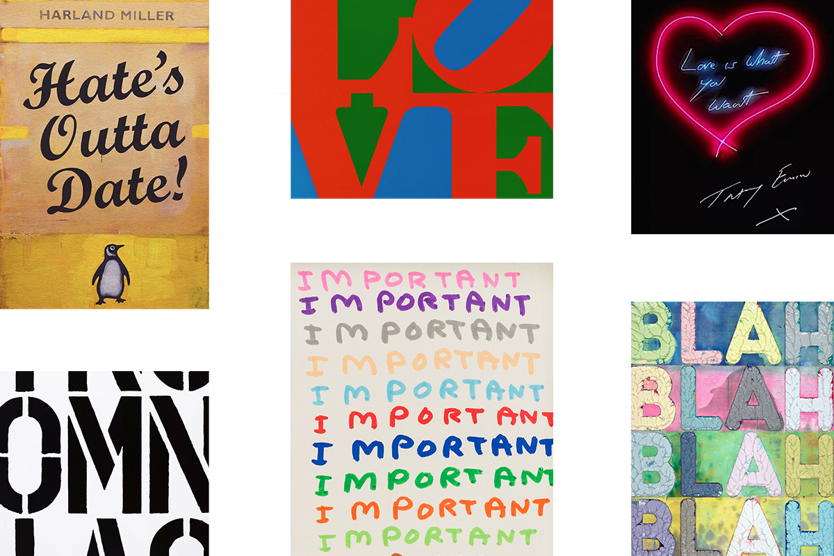 8 Text Based Artists To Collect