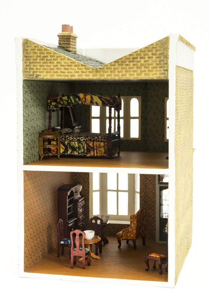 Accessories Solar Stage Coach House Miniature Dollhouse FAIRY GARDEN