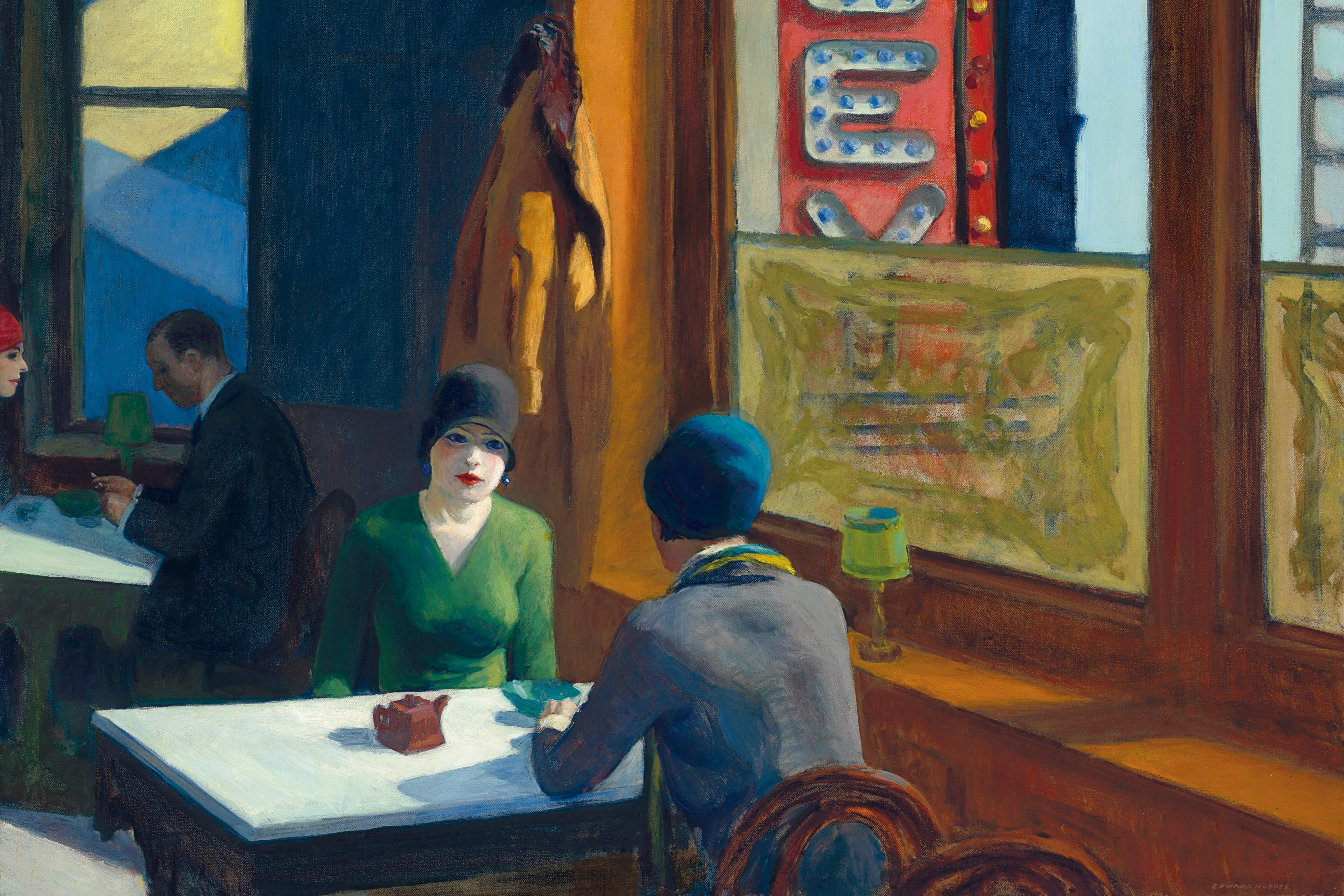 """Edward Hopper's """"Chop Suey"""" Sells for $91 9 Million at Christie's"""