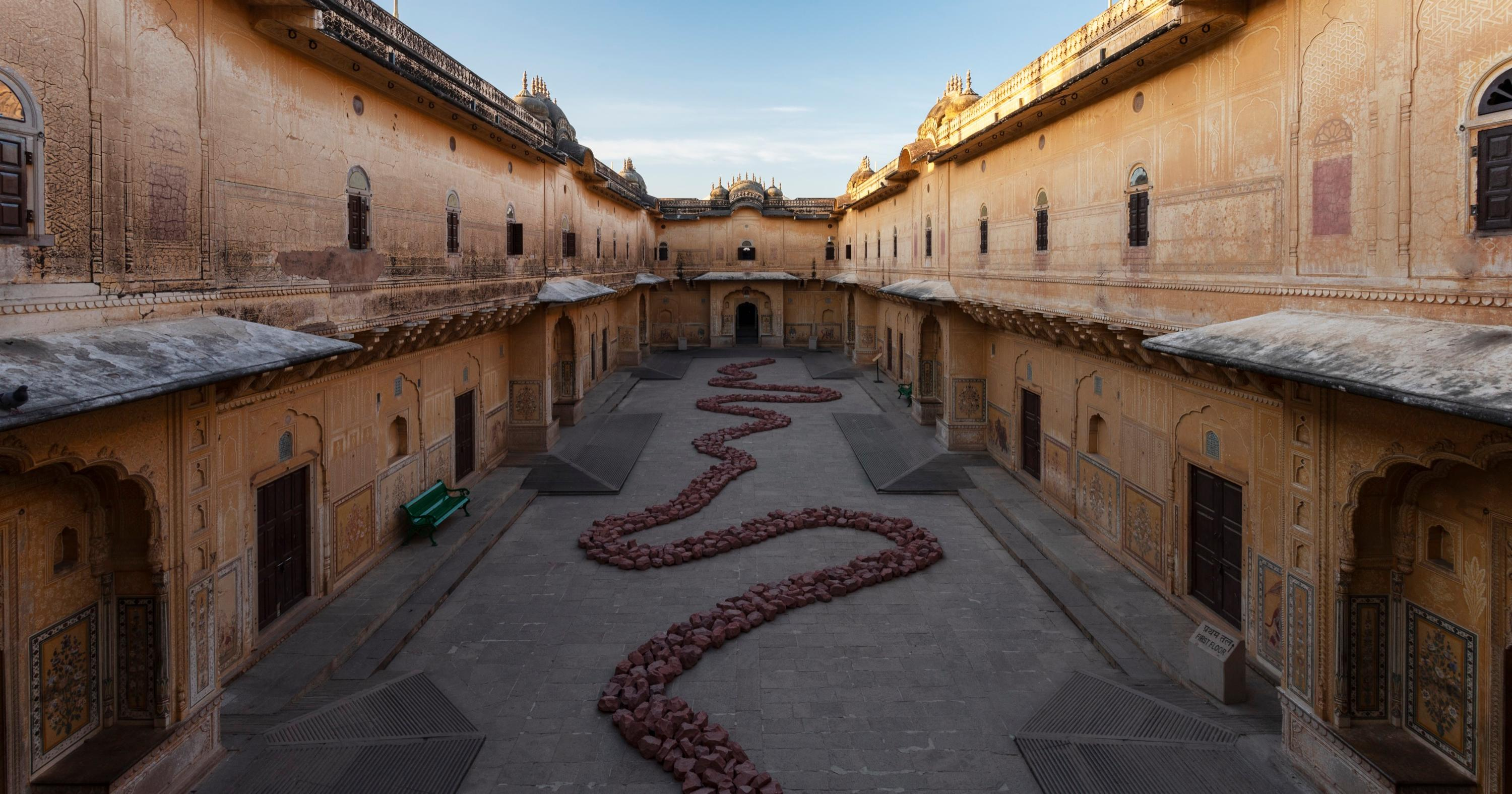 See Inside Indias Opulent New Sculpture Park at Madhavendra Palace