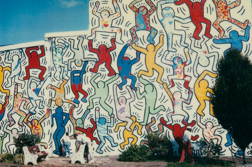 Why This 30-Year-Old Keith Haring Mural Was Never Meant to Last - Artsy 1bda43ce1