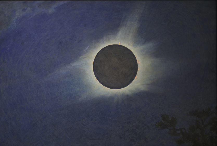 This Painter Captured Solar Eclipses before Photography Could