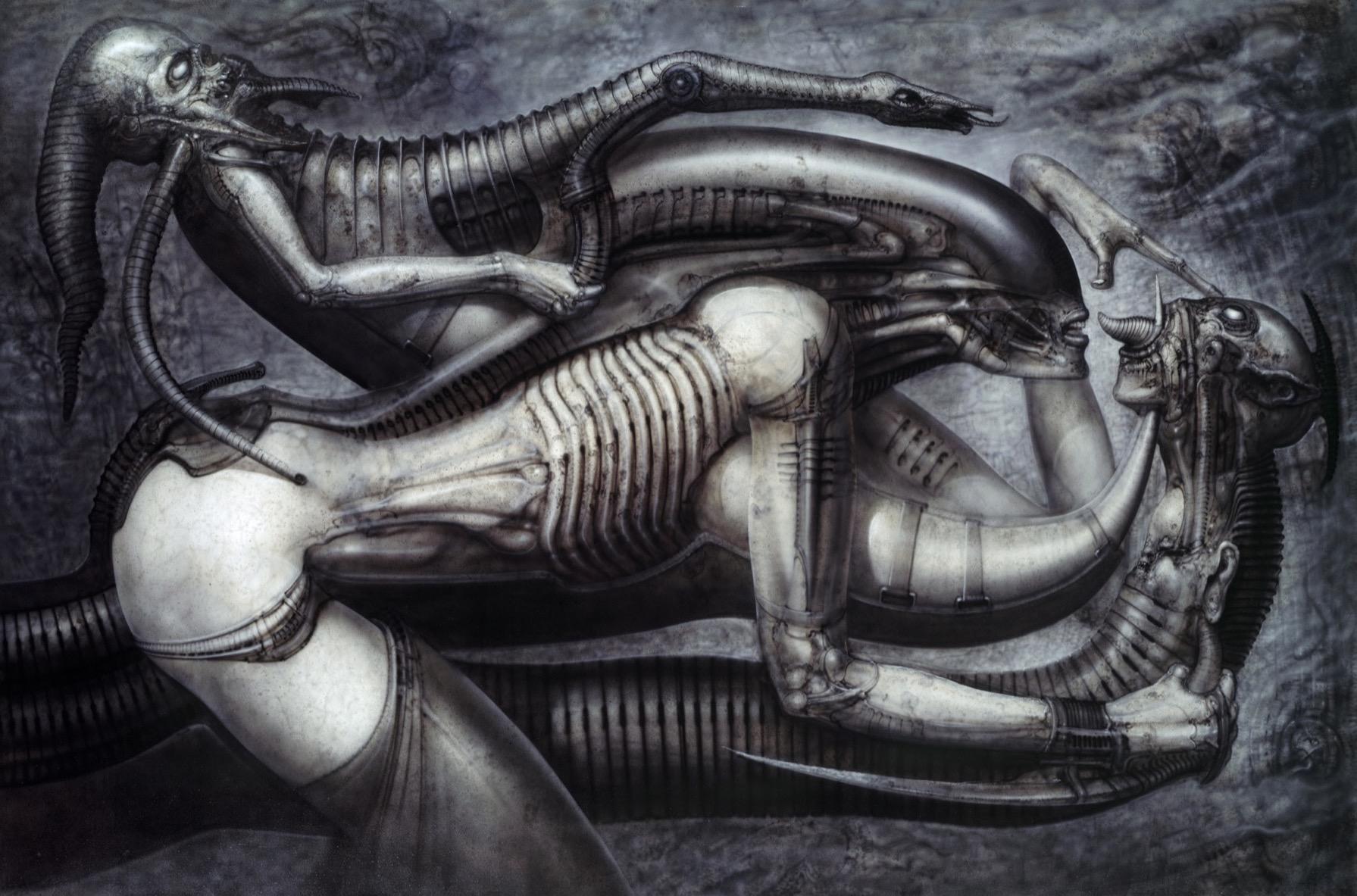 "H R  Giger's Nightmarish Art, beyond ""Alien"" - Artsy"