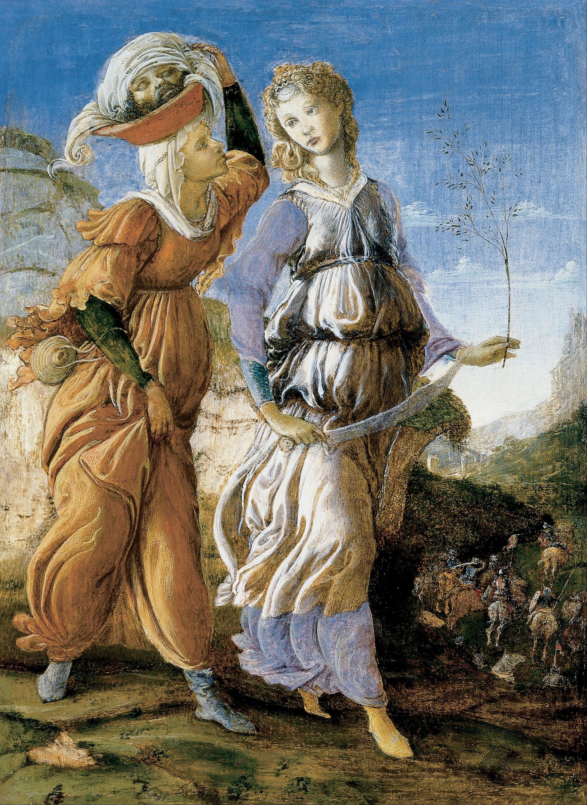 nackt Holofernes Judith Judith in