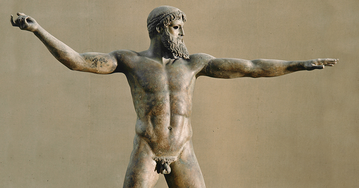 Why Ancient Greek Sculptures Have Small Penises