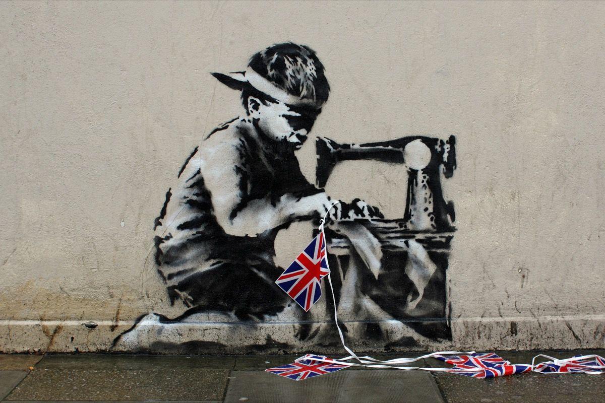 Banksy's 6 Most Iconic Artworks - Artsy